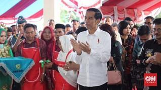 Jokowi: Teknologi Bikin Belanja di Pasar Tak Perlu Uang Tunai