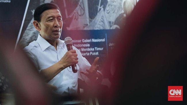 Wiranto Tagih Janji DPR Rampungkan RUU Terorisme