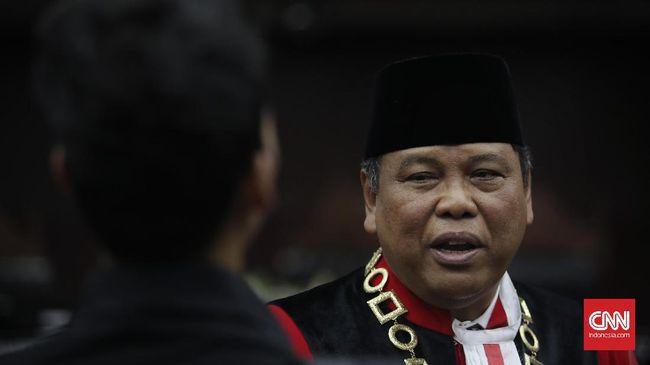 Arief Hidayat Minta Setop Isu Lobi DPR Demi Jabatan Hakim MK