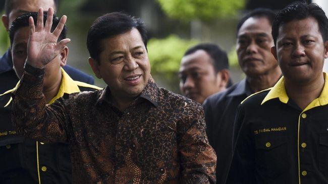 Setya Novanto Angkat Suara soal Gesekan PAN dan PDIP