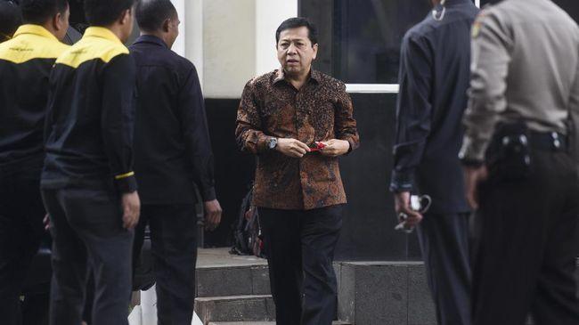 KPK Sebut Setya Novanto 'Atur' Perusahaan Garap e-KTP