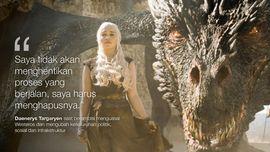 FOTO: Ujaran Paling Berkesan dari 'Game of Thrones'