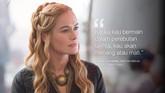 Cersei Lannister, saat berdiskusi dengan Eddard Stark. (Dok. HBO)