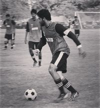 Rehan juga memiliki hobi berolahraga. Sepakbola merupakan olahraga favoritnya. (Foto: instagram/RehanMunir)