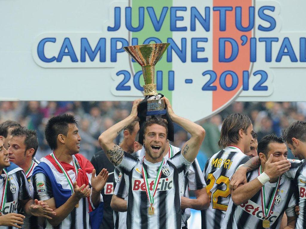 Claudio Marchisio, produk asli Juventus dan anak Turin tulen, pemain terakhir dari skuat juara 2011/2012 yang masih bertahan. (Foto: Getty Images)