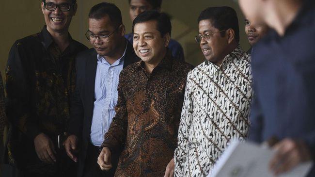 Hakim Undur Praperadilan Novanto