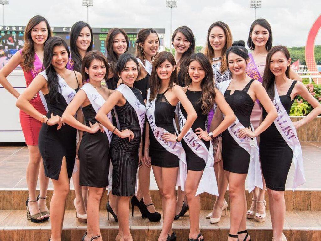 Foto: Ini Penampilan Finalis Miss Singapore 2017 yang Dikritik Jelek Netizen
