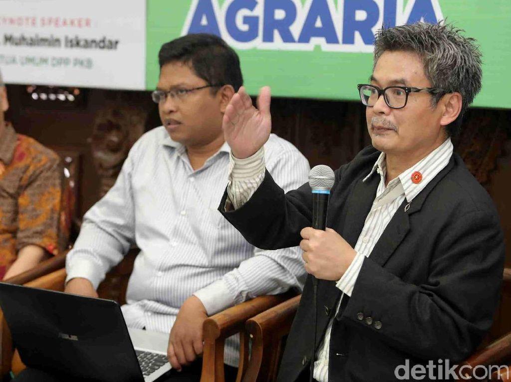 Diskusi tersebut sebagai rangkaian acara dalam rangka harlah ke 19 Tahun Partai Kebangkitan Bangsa.