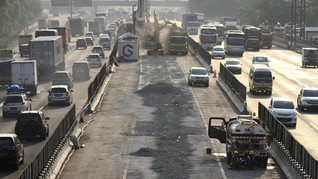 Tol Layang Jakarta-Cikampek Belum Bisa Digunakan Saat Mudik