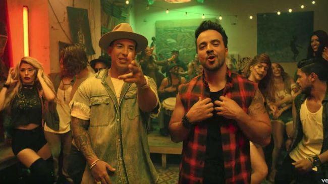 'Despacito' Jadi Lagu Paling Didengar Sepanjang Masa