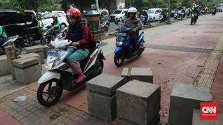 Pembatasan Motor Harus Didukung Ketersediaan Angkutan Umum