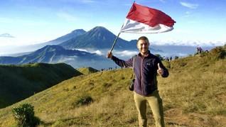 Josiah Skeats, Pria yang Tempuh Inggris-Indonesia Bersepeda
