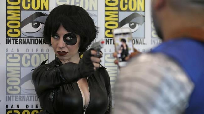 Dalam San Diego Comic-Con, pada 2013 lalu, ada 1075 panel pertemuan yang diselenggarakan dengan fokus ke anime 29 persen dan komik 26 persen. (REUTERS/Mike Blake)