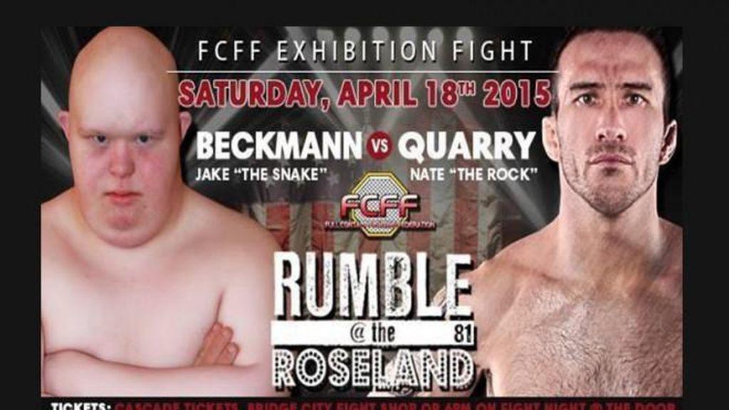 Ketika Remaja Down Syndrome Bertarung dengan Veteran MMA di Ring
