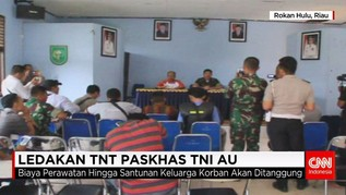 Ledakan TNT Paskhas TNI AU