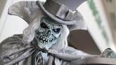 Joe Skellington pun tak ingin ketinggalan ikut cosplay dalam Comic-Con terbesar di dunia ini. (REUTERS/Mike Blake)