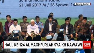 Haul ke-124 Al Maghfurlah Syaikh Nawawi