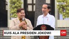 Presiden Jokowi Memberikan Kuis Kepada Seorang Mahasiswa UGM