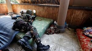 Tentara Filipina Gempur Sisa Simpatisan ISIS Marawi
