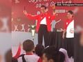 Jokowi Hibur Anak Indonesia di Pekanbaru dengan Sulap