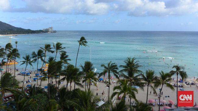 Hawaii Panik Setelah Peringatan 'Palsu' Serangan Rudal