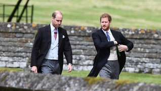 Pangeran William Disebut Tak Setujui Harry-Meghan Markle
