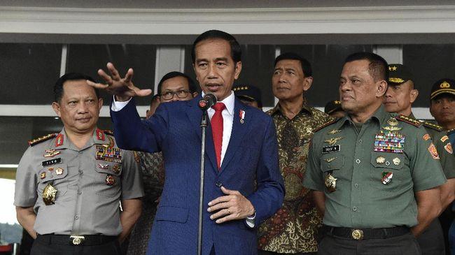 Jokowi Beri Wejangan agar Polri Jaga Stabilitas Pangan