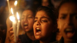 Konflik Berlanjut, Seribu Lilin Menyala di Al-Aqsa