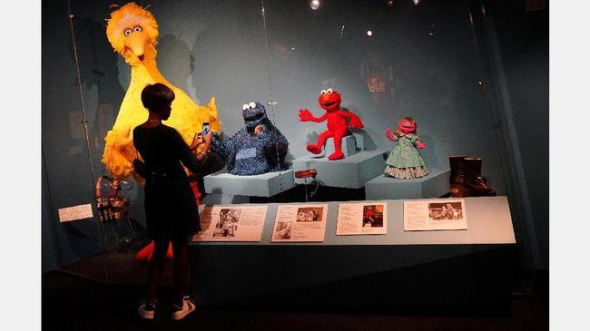 Taman Bermain 'Sesame Street' Rangkul Anak dengan Autisme