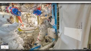 Kosmonaut Sebut Lubang di Kapsul ISS Dibor dari Dalam