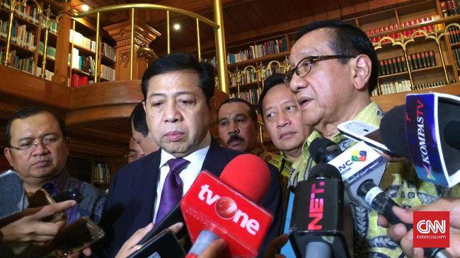 Akbar Tandjung: Setnov Siapkan Pengacara untuk Praperadilan