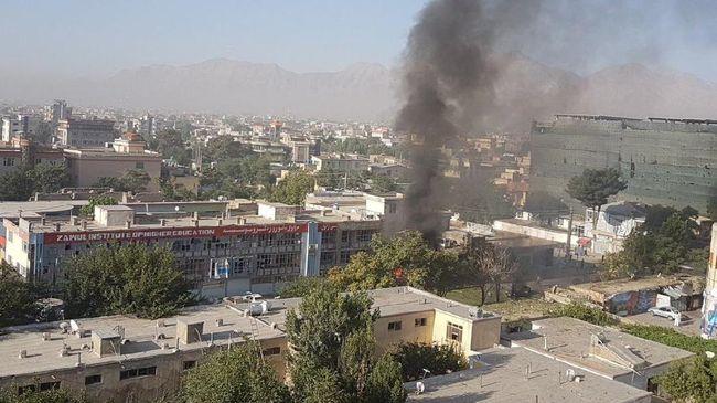 Bom Bunuh Diri Meledak di Afghanistan, Tiga Orang Tewas
