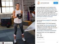 Dalam beberapa kesempatan, Carrie Underwood sering memamerkan kegiatannya saat berolahraga. (Foto: instagram @carrieunderwood)