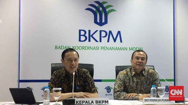BKPM Nyatakan Investasi Kuartal II 2018 Melambat