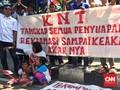 Nelayan Demo Tolak Dua Raperda Reklamasi Teluk Jakarta