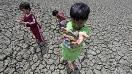 Krisis Air, Anak-anak Cimahi Tak Mandi sebelum Pergi Sekolah