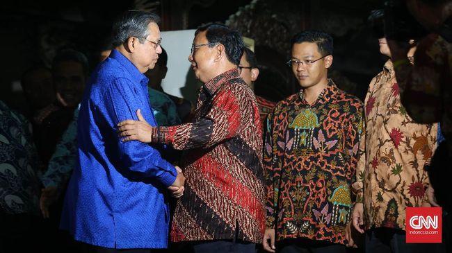 Bangun Koalisi Besar, Prabowo Akan Temui SBY dan Puan