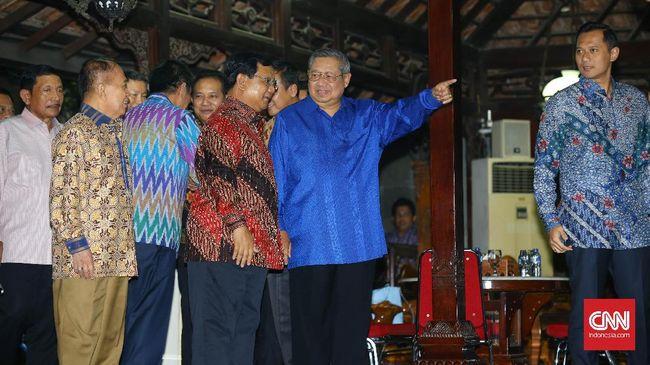 'Pertemuan SBY-Prabowo Bukan Jaminan Koalisi di Pilpres'