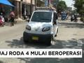 Bajaj Roda Empat Mulai Beroperasi di Jakarta