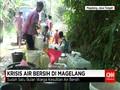 Warga Perbukitan Manoreh Di Magelang Serbu Air Bersih