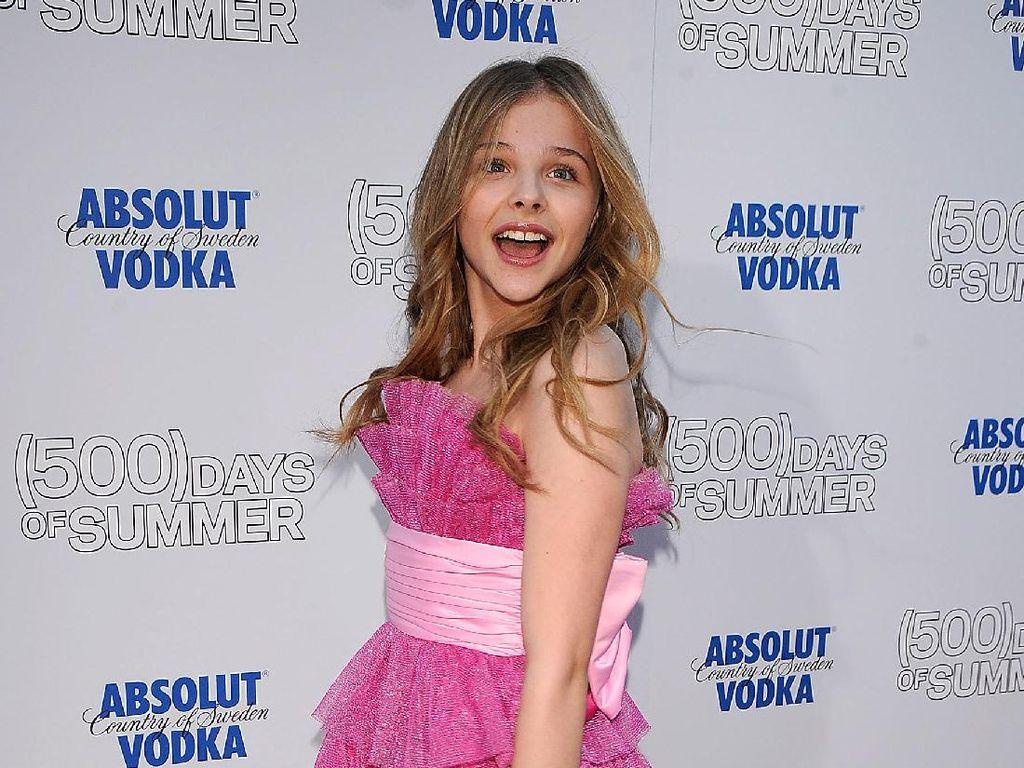 Foto: Transformasi Chloe Moretz yang Kini Menjelma Jadi Gadis Cantik