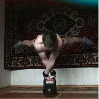 Di instagram, ia banyak mengunggah foto saat berolahraga. (Foto: instagram @workoutslava)