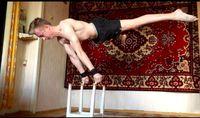 Kemampuan ini hanya bisa didapat dengan latihan secara teratur dan terukur. (Foto: instagram @workoutslava)