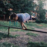 Butuh keseimbangan yang luar biasa untuk melakukannya. (Foto: instagram @workoutslava)