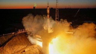 Peluncuran Soyuz Demi Awak Baru Stasiun Luar Angkasa