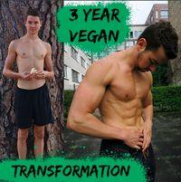 Beberapa tahun silam, Ferdinand Beck (24) asal Berlin adalah remaja bertubuh kerempeng. Hingga akhirnya ia memutuskan untuk jadi vegetarian. (Instagram @vegainstrength)