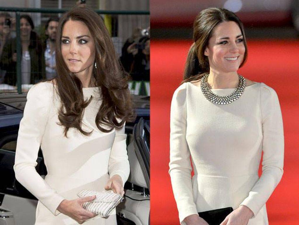 Foto: 10 Bukti Kate Middleton Tetap Stylish Walau Pakai Baju yang Itu-itu Aja