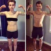 Ketika nanti tubuh sudah cukup maskulin, maka langkah berikutnya adalah operasi payudara dan kelamin untuk melengkapi perubahan menjadi pria. (Foto: Instagram/fire.butt)