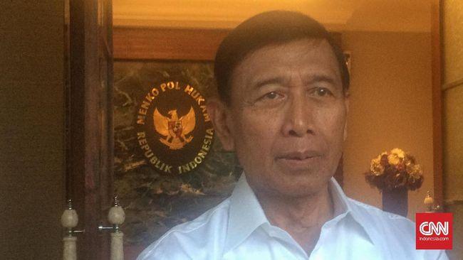Wiranto Klarifikasi Pernyataan Panglima soal 5.000 Senjata