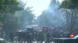 Usai Ledakan Bom, ISIS Baku Tembak dengan Polisi Afghanistan